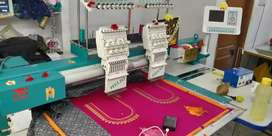 Embroidery machines for sale new