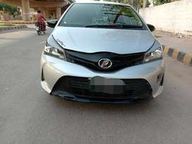 toyota vitz 2016  on easy installments