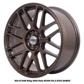 Velg Mobil Ring 18 PCD 4x100-4x114,3 Agya Mobilio Yaris Galant