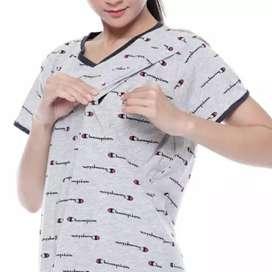 baju ibu menyusui preloved merk mamaku