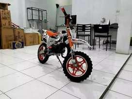 Sepeda motor trail mini free ongkir bjm hubungi tlpon wa