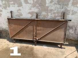 Two iron doors