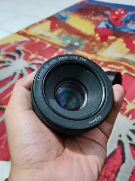canon fix 50mm stm mulus bening