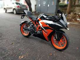 Barely used KTM RC200