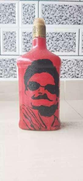 Bottle art...