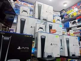 Sony PS 5 Digital & Disk Version