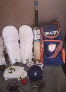 All new cricket kit complete set