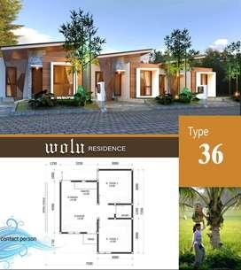 Rumah indent tipe