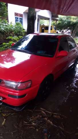 Corolla great 92 built up