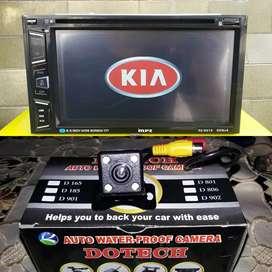 Ddin Tv 6,95in + kamera buat KIA Caren,Picanto