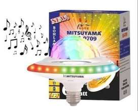 COD Bayar DiRumah Lampu Speaker Bluetooth Lampu Disco Disko Dekorasi