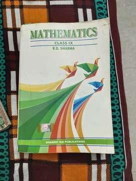 Mathematics 9th RD SHARMA (dhanpat rai publications )