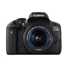 Canon EOS 750D Kit STM Bisa Dicicil Tanpa Kartu Kredit 3 Menit Cair
