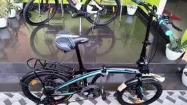 Promo Sepeda Lipat Trex ukuran 20in Bonus botol minum