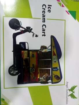 E Rickshaw Ice Cream Cart