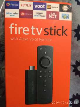 2019 Amazon Fire TV stick Streaming media player with Alexa built in