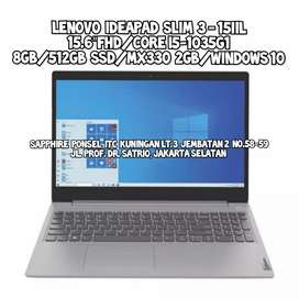 Lenovo Ideapad Slim 3 15IIL[i5-1035G1/MX330 2GB/8GB/512GB Ssd]