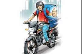 We are urgent looking candidates for Bike Rider &Delivery Boy