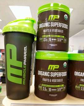 Shaker Import Shaker Musclepharm Original USA Tebal dan Awet BPA Free.