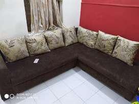 L shaped Sofa set brand New