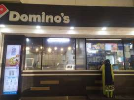 Dominos pizza chef & Delivery boys at KD Singh metro station Lucknow
