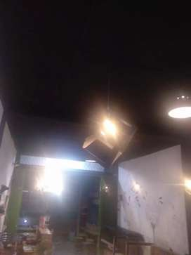 Lampu Hias Gantung warna hitam