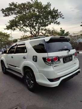 Jual Toyota FORTUNER TRD Diesel 2013/2014 MANUAL Original  bsa Kredit
