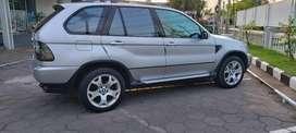 Bmw X5 2004 silver 4x4 mulus