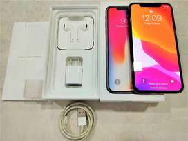 iPhone X 256 gb,like new condition,all accessories,working face id.