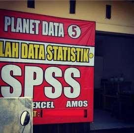 Jasa Analisis Olah Data SPSS Skripsi KTI Kilat Ditunggu Merangin
