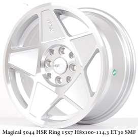 velg hsr ring 15x7/8 silver h8x100-114,3