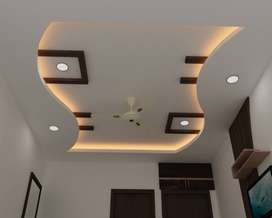 Pop celling any design & expert team color putti work