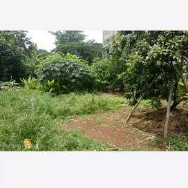 Dijual tanah pekarangan dibeji depok lokasi strategis tengah kota