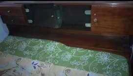 Tempat tidur /Ranjang Kayu Jati Asli
