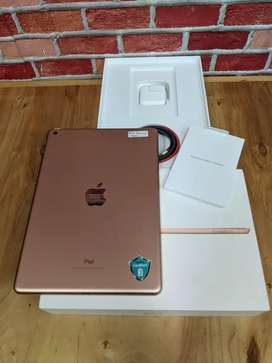 Ipad 6 32gb wifi only  inter rose gold mulus