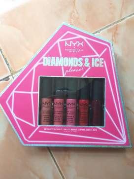 Nyy professional make up / soft matte lip vault (set isi 5)