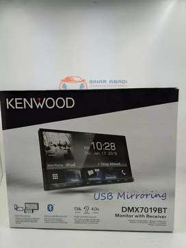 HEAD UNIT 2 DIN KENWOOD DMX7019BT