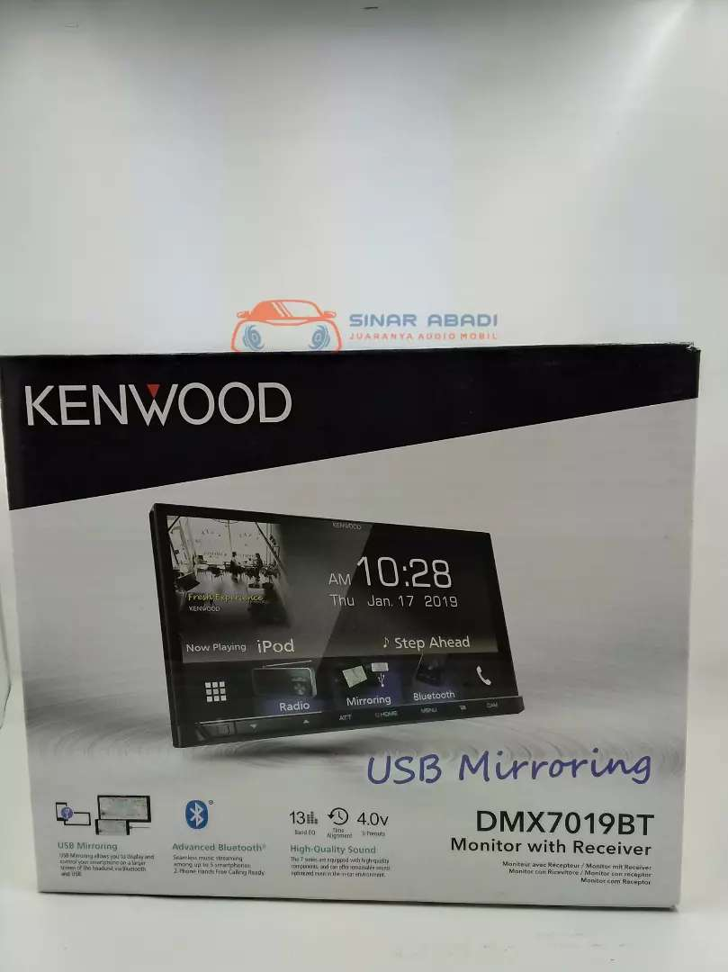 HEAD UNIT 2 DIN KENWOOD DMX7019BT 0