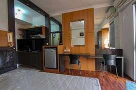 maple park studio bulanan furnished
