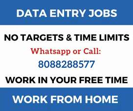 100% genuine home based jobs. Earn daily Rs.1000 in your free time.