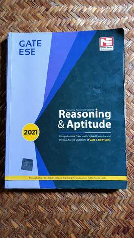 Reasoning & Aptitude Book for GATE ESE
