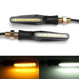 Fancy lights and indicators for all types of bikes
