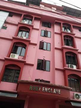 2 BHK flat ,4thfloor, fully furnished,builtup area 1012 sq ft.