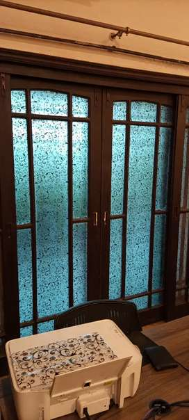 Glass paper frosted glass