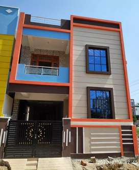 Boduppal, 125 Sqyds, G+1 New Building for sale.