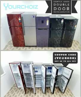 Gently used double door refrigerators with free shipping