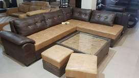 New sofa set at very low cost emi installments and also low rent