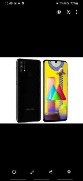 m31 new branded with warranty hardly 10 days old a ram 6 gb 128 gb rom