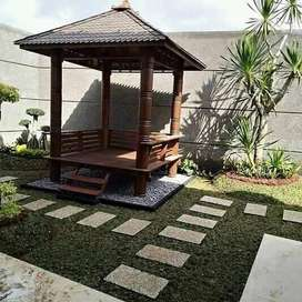 tukang taman rumput jual rumput gajah  mini taman
