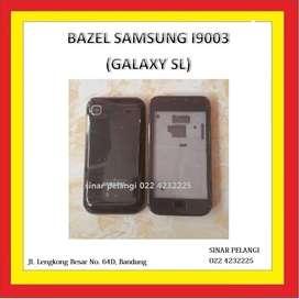 Bazel Bezel Middle Tulang tengah SAMSUNG I9003 GalaxySL Black Original